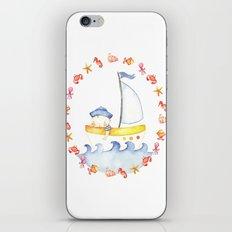 Baby sailor iPhone & iPod Skin