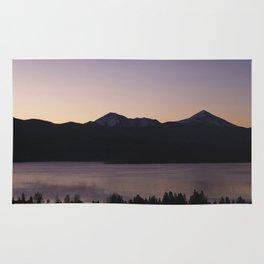 Sunset at Lake Dillon Rug