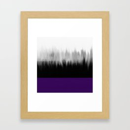 Asexuality Spectrum Flag Framed Art Print