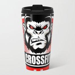 Gorilla fitness gym and sport Travel Mug