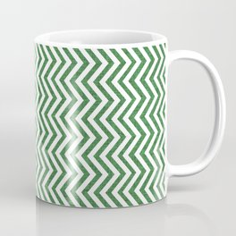 Canadian Wildlife Chevron Emerald Coffee Mug