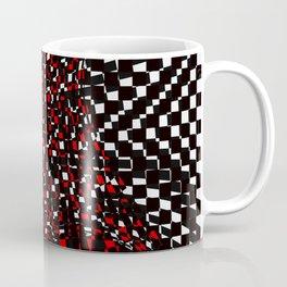 black white red 3 Coffee Mug
