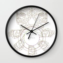 All Things Go. 3-D Wall Clock
