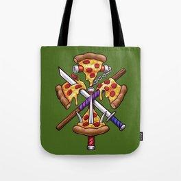 Ninja Pizza Tote Bag