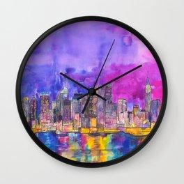 New York City Wall Clock