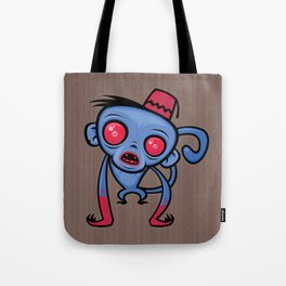 Zombie Monkey Tote Bag