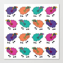Sheepies Canvas Print