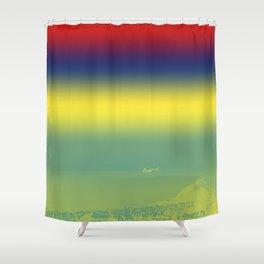 Heli Shower Curtain