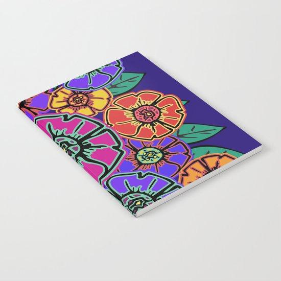 Abstract #462 - Flower Power #13 Notebook
