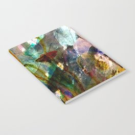 flowers on the field Notebook