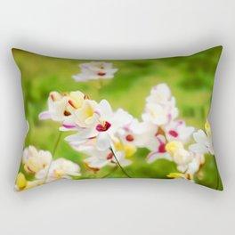 Flower Art For Rectangular Pillow