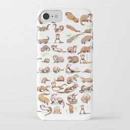 Otters collection iPhone Case