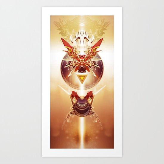 Glory's Rise Art Print