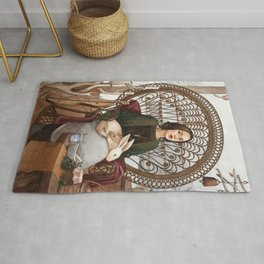 Robin - A Compendium of Witches Rug