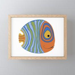 Fish art 21.2 Framed Mini Art Print