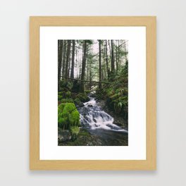Grata Creek Framed Art Print