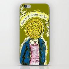 Be Brave Eleven - Eggo head iPhone & iPod Skin