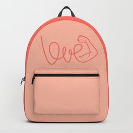 Love Is The Power (color version) Backpack