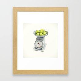 pear group Framed Art Print