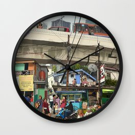 KAMPUNG AYU Wall Clock