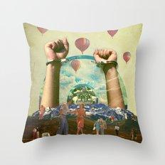 Unbound Throw Pillow