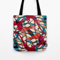 dance Tote Bags featuring - dance - by Magdalla Del Fresto