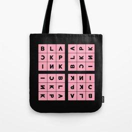 Blackpink Square Up PINK V2 Tote Bag