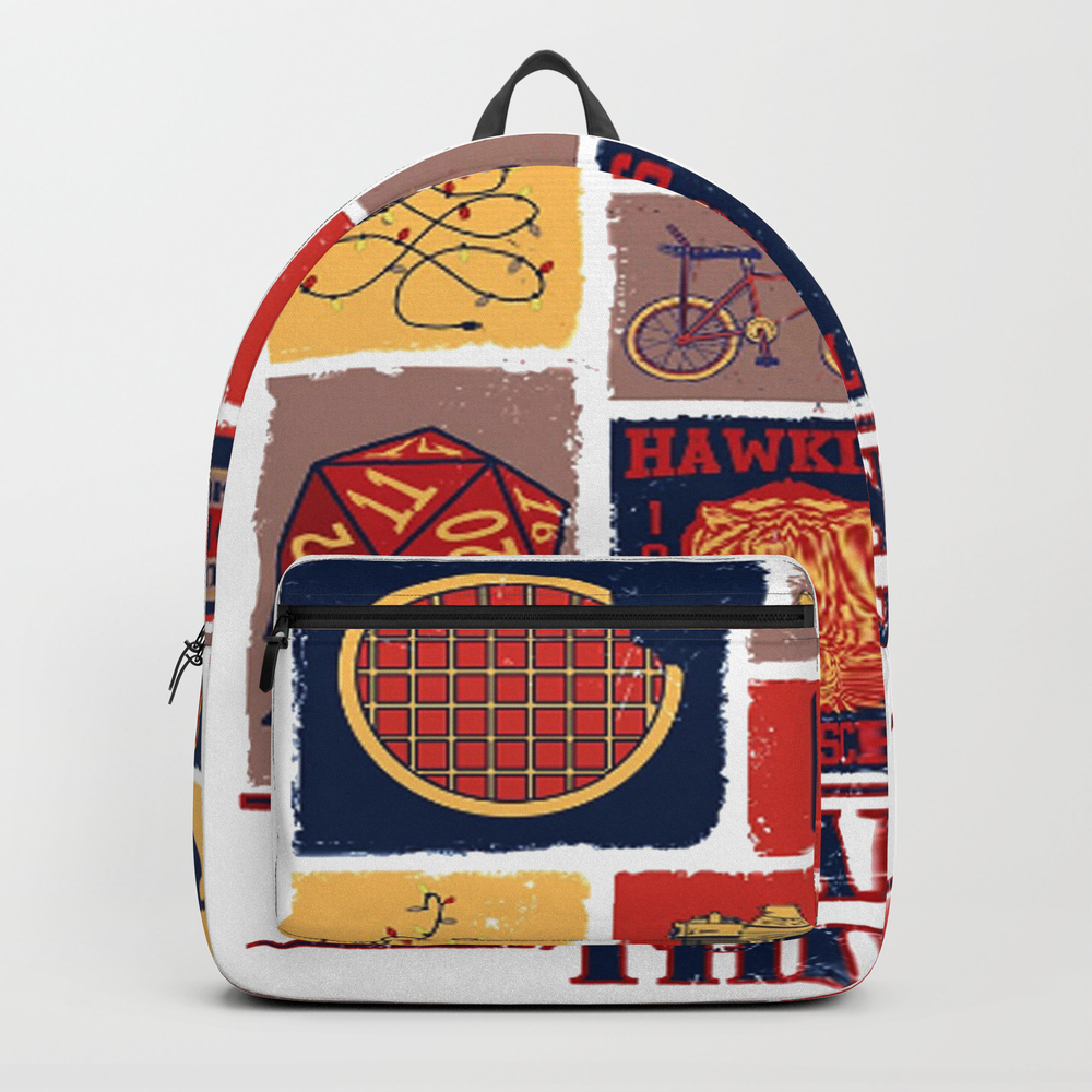Stranger Thing Backpack by Avocadoart