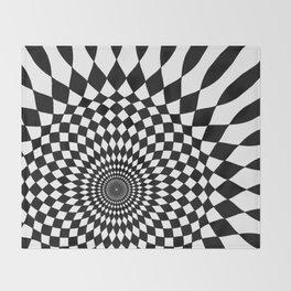 Wonderland Floor #5 Throw Blanket