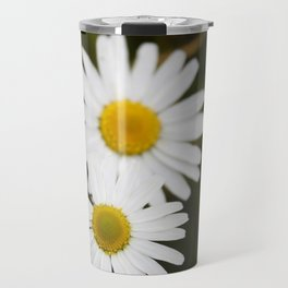 Three Daisies Travel Mug