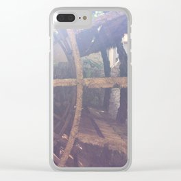Water Wheel in L'île sur la Sorge Clear iPhone Case