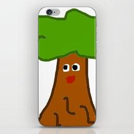meowing tree iPhone Skin