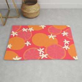 Grapefruit Pattern Rug