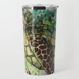 Hawksbill Sea Turtle Travel Mug