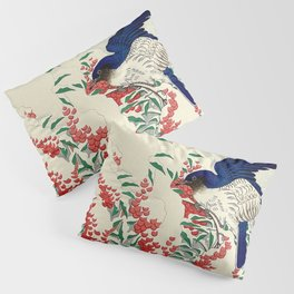 Winterberry Songbirds Pillow Sham