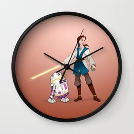 I Want Adventure In a Far Away Galaxy Wall Clock