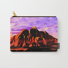 Land of Lava Carry-All Pouch