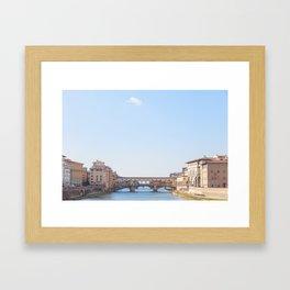 Ponte Vecchio II Framed Art Print