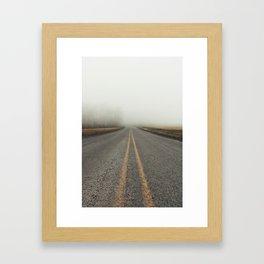 Low Views Framed Art Print