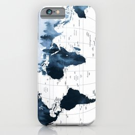 ALLOVER THE WORLD-Woods fog map iPhone Case