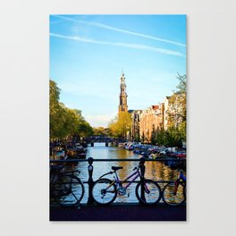 Amsterdam Living Canvas Print