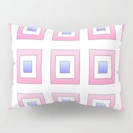 Tribute to mondrian 7- piet,geomtric,geomtrical,abstraction,de  stijl, composition. Pillow Sham