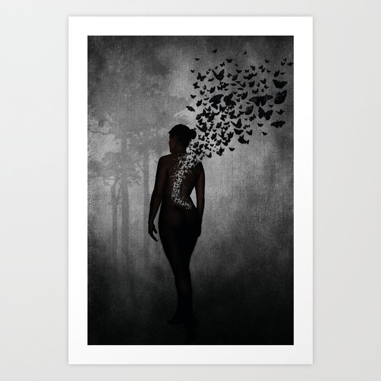 The Butterfly Transformation Art Print