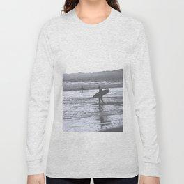 Surf at Dusk Long Sleeve T-shirt