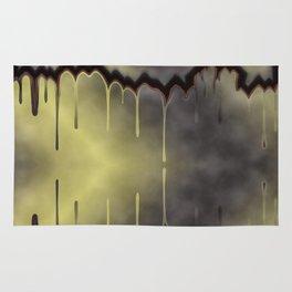 dark, sad, black, shiny, background, copy space, festive, golden, colored, subtly Rug