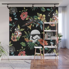 """""""The Floral Awakens"""" by Josh Ln Wall Mural"""