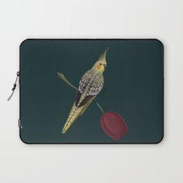 Pearl Cockatiel Laptop Sleeve