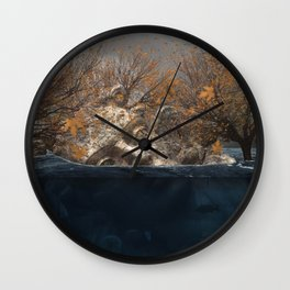 Fal From All Wall Clock