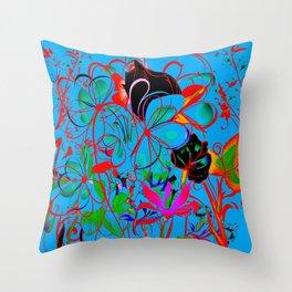 Patternbr4 Throw Pillow