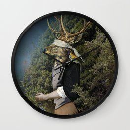 Don`t Be Afraid Of The Dark (Blue Edition) Wall Clock